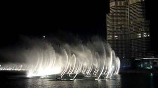 Awsome night footage of the Dubai Fountain - Mehad Hamed: Sama Dubai