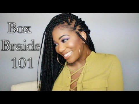 Box Braids For Thin Fine Hair Pocketsandbowstv Youtube
