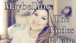 Maybelline The Nudes Palette Thumbnail