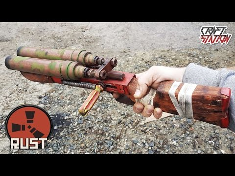 Thumbnail: How to make a Double Barrel Shotgun from RUST DIY