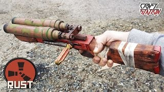 How to make a Double Barrel Shotgun from RUST DIY