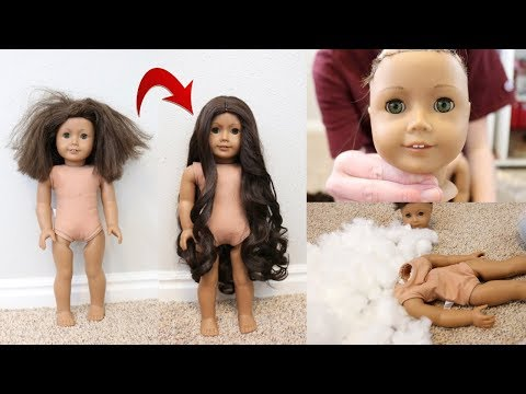 Fixing An Old AG Doll!