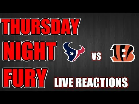 Thursday Night Football Live Reactions & Hangout