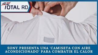 Sony presenta una 'camiseta con aire acondicionado' para combatir el calor