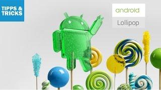 Android 5.0 Lollipop: Tipps und Tricks für das Google-System