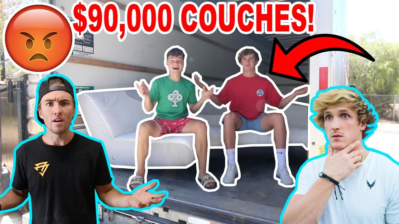 I Stole Logan Pauls $90,000 Couches