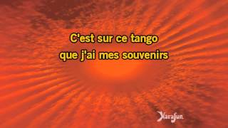Karaoké Notre tango d