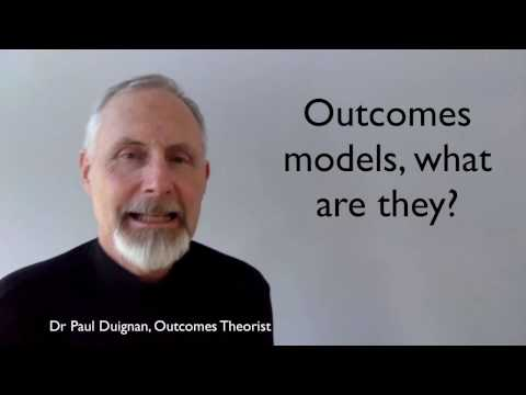Outcomes models, what are they?  Three Minute Outcomes 2
