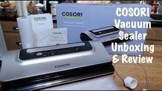 COSORI Vacuum Sealer CP428-VS Unboxing & Review