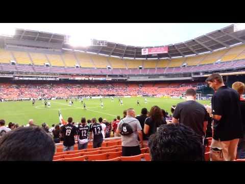 D.C. United-Montreal Impact Game at RFK Stadium