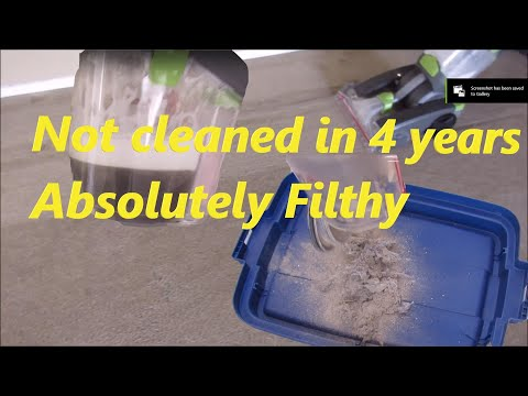Erasing years of dirt with deep cleaning machines