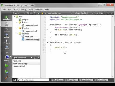 C++ Qt 03 - Intro to GUI programming