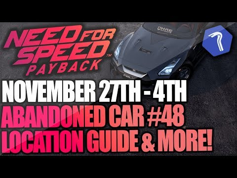Need For Speed Payback Abandoned Car #48 - Location Guide + Gameplay - Mitko Vasilev Nissan GT-R!