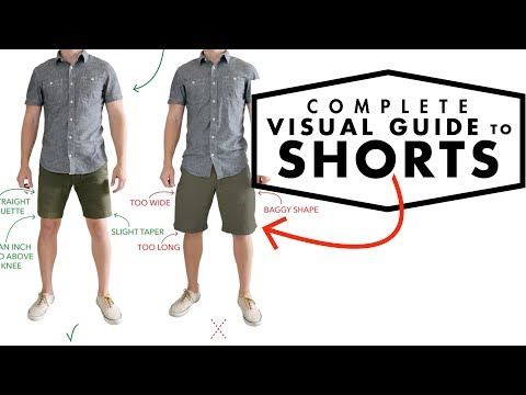 A Complete Visual Guide To Men's Shorts | How Shorts Should Fit | Men's Summer Fashion