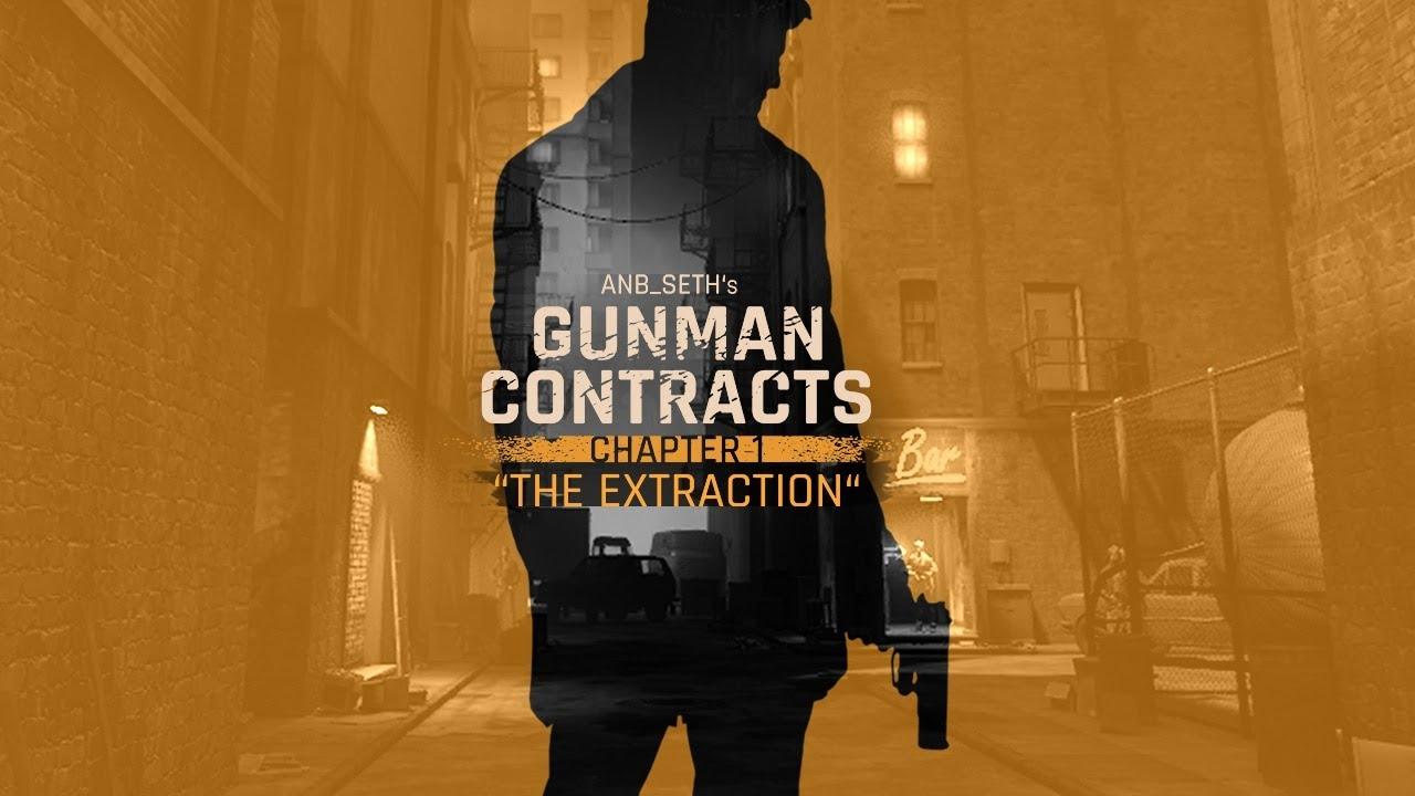 Играем в мод для Half-Life Alyx - Gunman Contracts - Chapter 1 - The Extraction