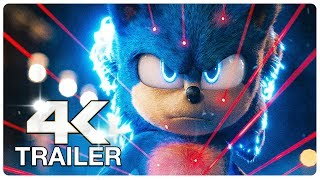 SONIC THE HEDGEHOG : 5 Minute Trailers (4K ULTRA HD) NEW 2020
