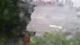 Unwetter Ansbach 2018