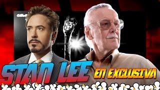 Stan Lee e Industrias Stark en el mundo real