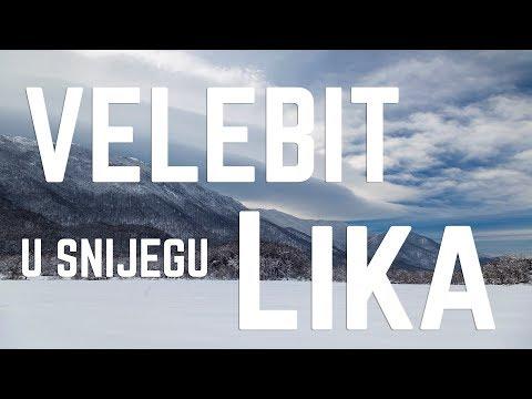 Zima U Lici Podno Velebita / Winter In Lika, Croatia