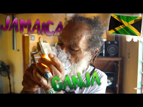 How does a Rasta smoke his Ganja ? Jamaica