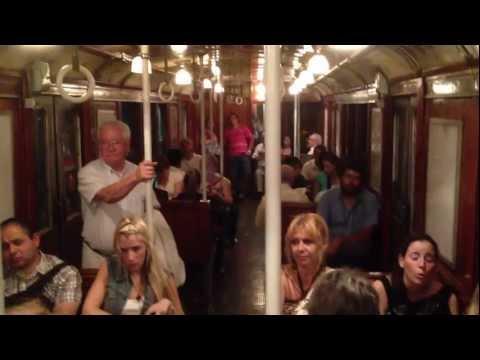 ARGENTINA: Buenos Aires Vintage Subway Ride