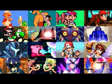 Evolution Of Best Nintendo Games (1985 - 2019)