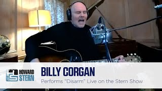 """Billy Corgan Performs the Smashing Pumpkins Hit """"Disarm"""" on the Stern Show"""