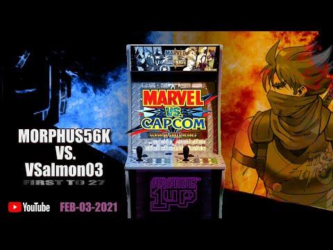 ARCADE1up - MvC1: Morphus56K Vs. VSalmon03 GOLD RANK/TOP PLAYER FIGHT - February 3, 2021 at 6:45 PM from Daniel Rivera