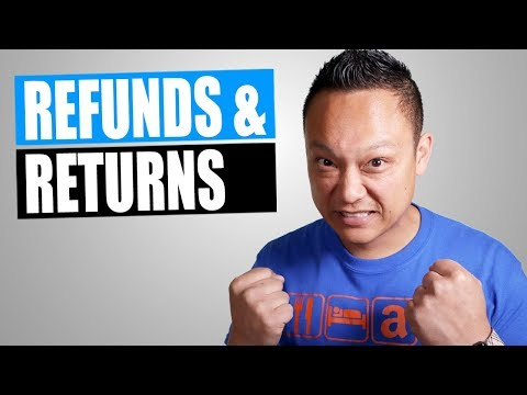 How To Deal With Refunds And Returns On Amazon FBA Private Label Products