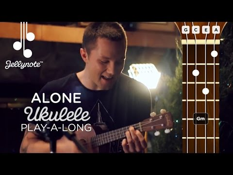 Alone Alan Walker - Ukulele Play-a-long cover tutorial with Adam Christopher