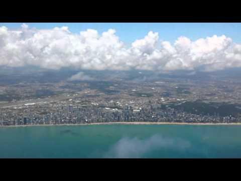 Voo panorâmico Learjet 40 - SBRF - Recife