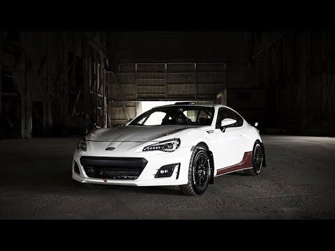 Brand New Subaru BRZ Turned Into a Rally Car