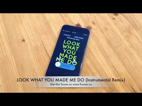 LOOK WHAT YOU MADE ME DO Ringtone - Taylor Swift Tribute Instrumental Remix Ringtone - [Download]