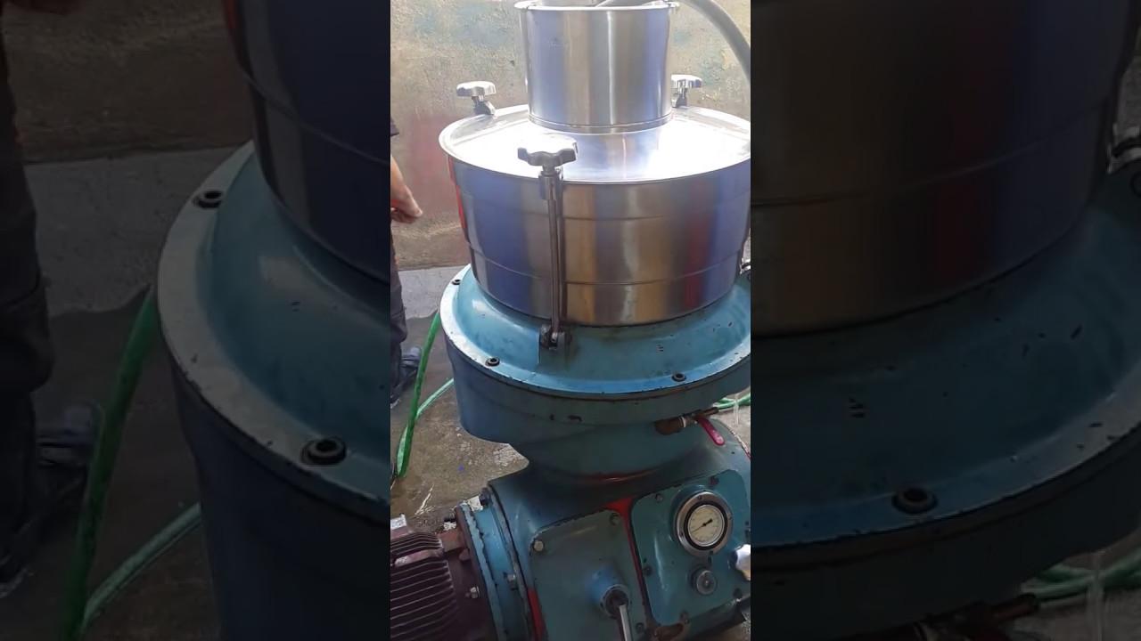 Reparación centrifuga Alfa Laval UVPX-307