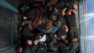 Бой в лифте Первый мститель Другая война