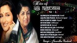 Evergreen Hits of Lata Mangeshkar   Hits of Anuradha Paudwal   Old Songs   Jukebox 2