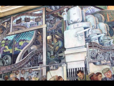 Detroit Institute of Arts - Diego Rivera Mural