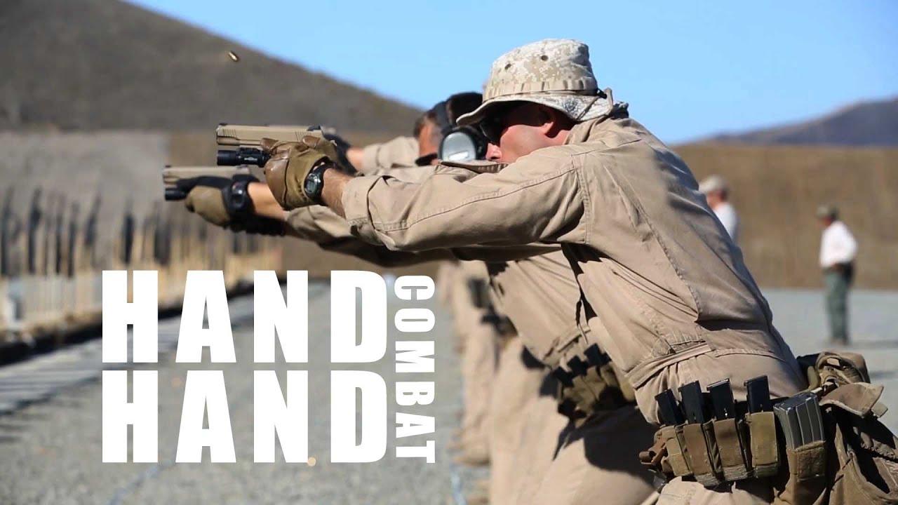 Marines Train in Close Quarters Combat