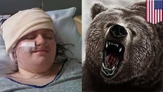 Teen survives bear attack: 15-year-old girl plays dead to fool attacking black bear