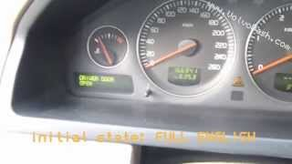 change language - Volvo XC90 2005 - DIM  ICM