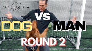 ultimate challenge man vs dog | the east family