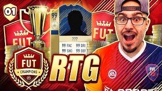 OMG BRAND NEW RTG START! - FIFA 18 ROAD TO FUT CHAMPIONS #01