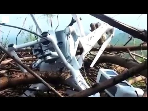 Indian unmanned aerial vehicle UAV drone crashed after intruding into China's airspace 印度无人机在中国坠毁