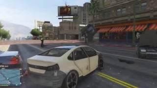 GTA 5 Аварии, трюки, приколы.