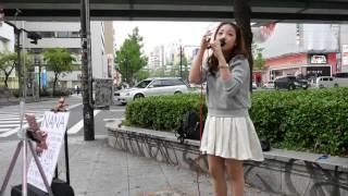 NANA「No.1」(西野カナ)カバー初公開Ver 2016/04/24 大阪 近鉄難波駅前