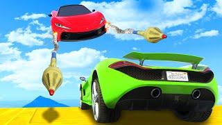 Dodge The RPG AIR STRIKE! - GTA 5 Funny Moments
