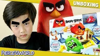 Angry Birds Sling & Smash Track Set - Angry Birds Speedsters Toys for Kids - Pierce'sWorld