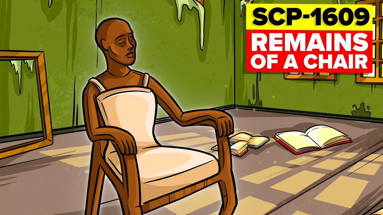 How NOT to Kill an SCP - SCP-1609 - Remains of a Chair (SCP Animation)
