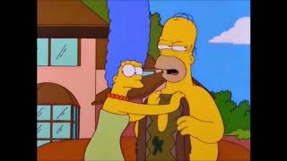 Homer Becomes A Hippie  -  The Simpsons