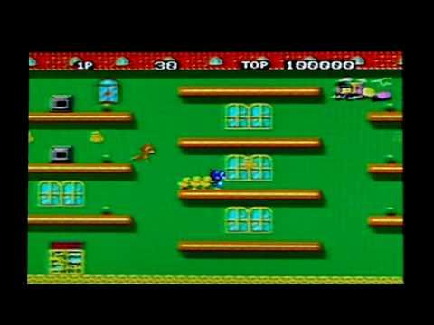 Flicky On Sega Mega Drive / Genesis. Gameplay & Commentary